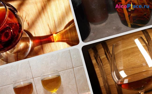 Коньяк из спирта в домашних условиях рецепты быстрый рецепт 668