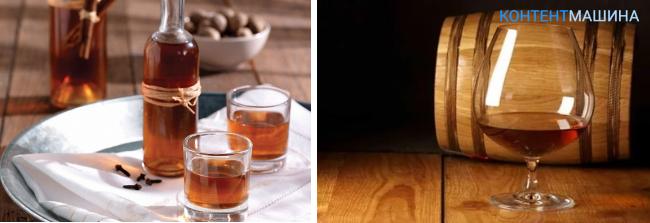 Приготовление из спирта коньяк в домашних условиях 119