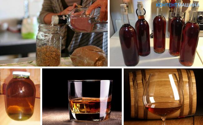 Как сделать на спирту коньяк