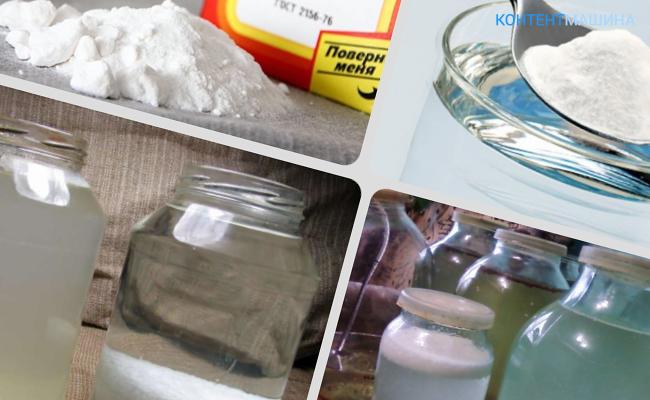 Как очистить самогон содой в домашних условиях