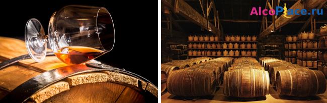 Из чего делают коньяк - процесс изготовления популярного напитка