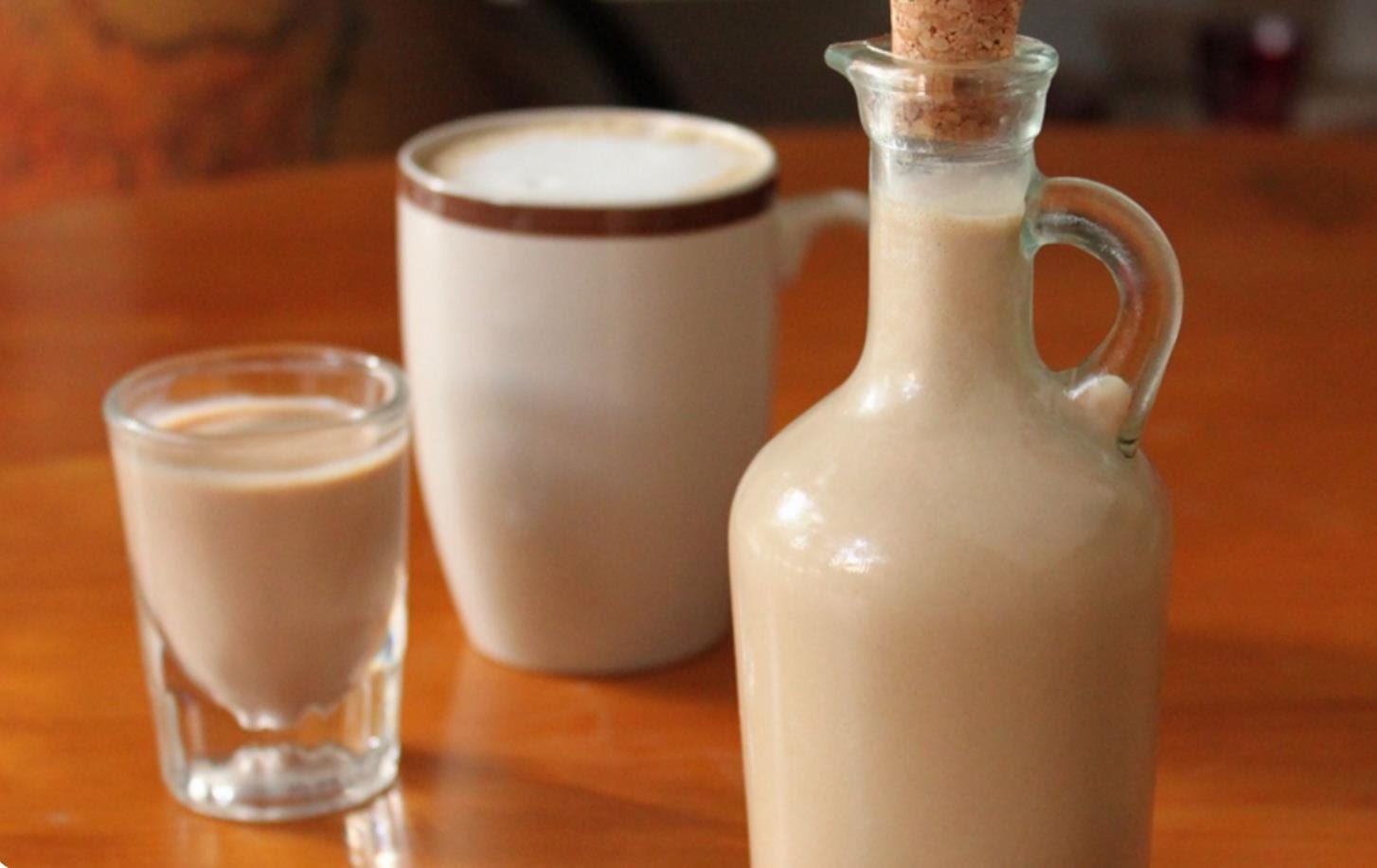 Молоко и бейлиз в домашних условиях