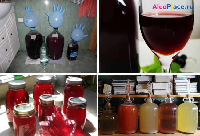 Вино из варенья в домашних условиях рецепты фото