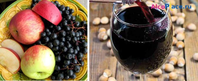 Домашнее вино из черноплодной рябины пошаговый рецепт