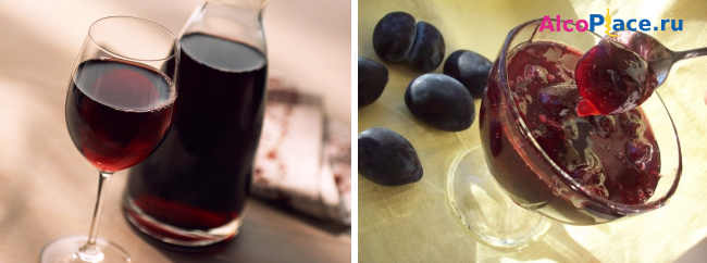 Как приготовит сливовое вино