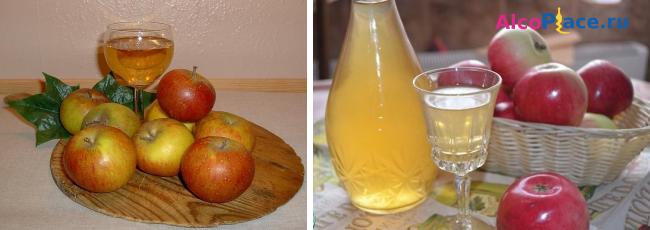 Как сделать креплёное вино из яблок