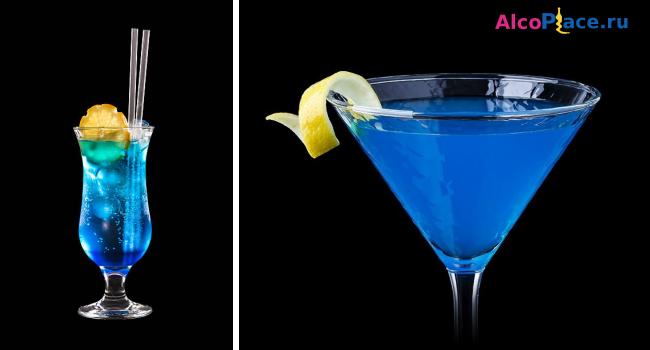 алкогольный коктейль голубая лагуна рецепт в домашних условиях