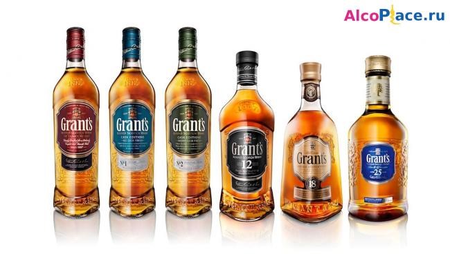 Виски Grant's (Грантс) — история и виды шотландского напитка