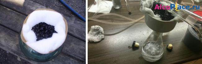 Очистка спирта активированным углем в таблетках