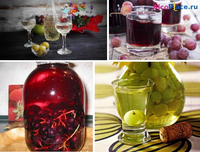 Как из винограда сделать настойку из 382