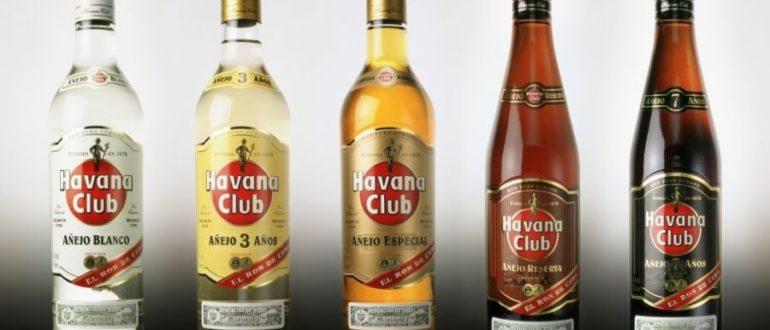 Лучшие сорта рома Гавана